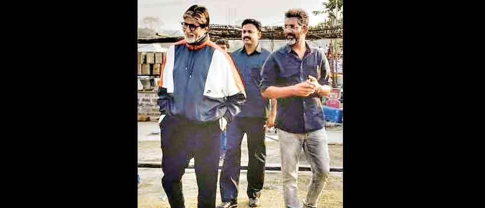Amitabh Bachchan starts shooting for 'Jhund' in Nagpur