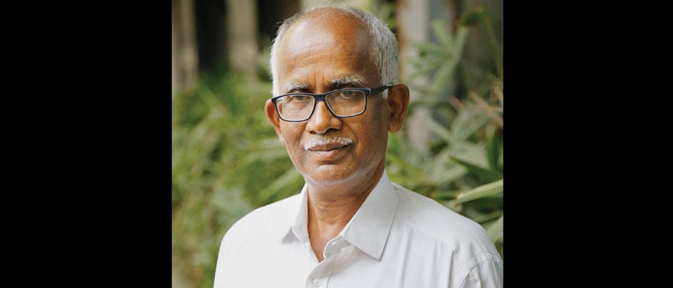 Ajit Narade of the Shetkari Sanghatna