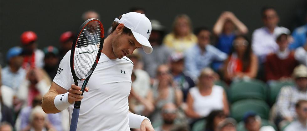 Murray beaten in Wimbledon quarter-finals by Sam Querrey