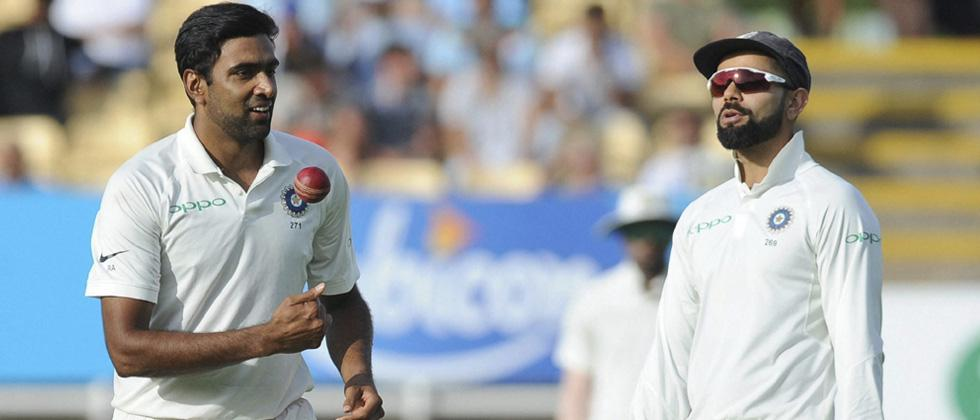 Ashwin's four for gives India edge on Day 1 against England