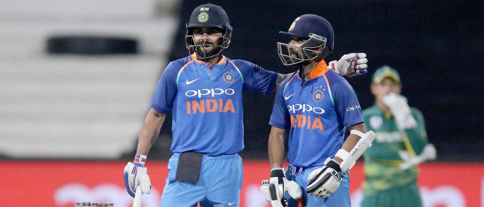 Kohlis 33rd ton helps India beat SA by 6 wkts in first ODI