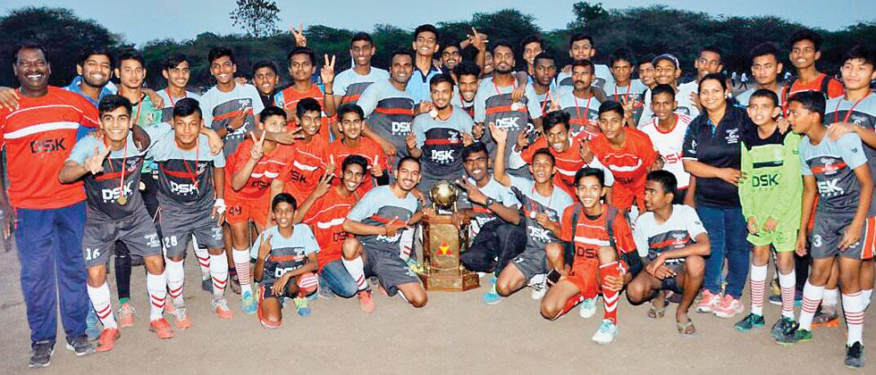Shivajians, Nagar have a successful footballing year