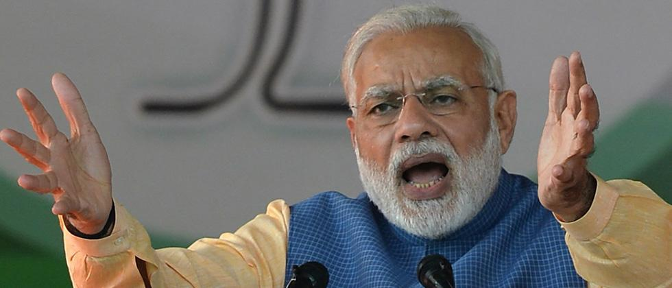 Country suffering due to wrong policies of Cong: PM in LS