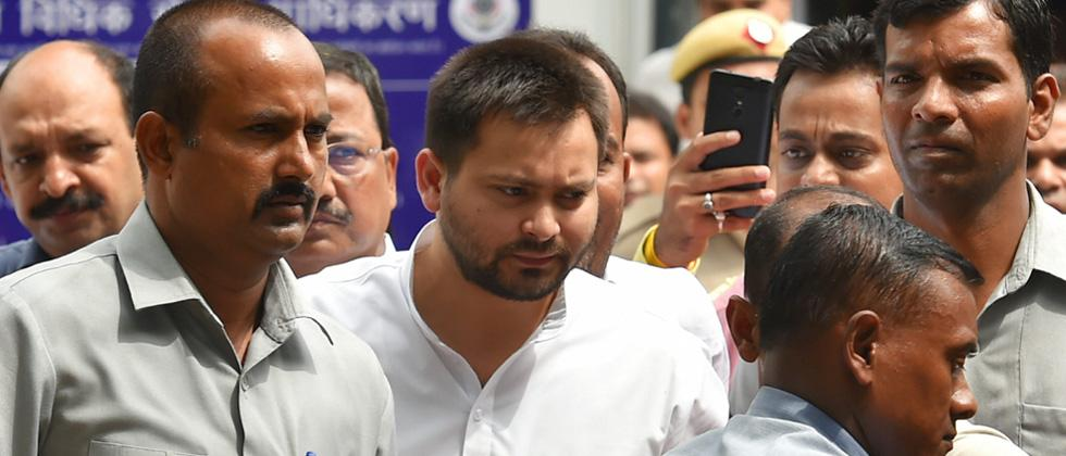 Court grants bail to Lalu's wife Rabri, son Tejashwi in IRCTC scam case