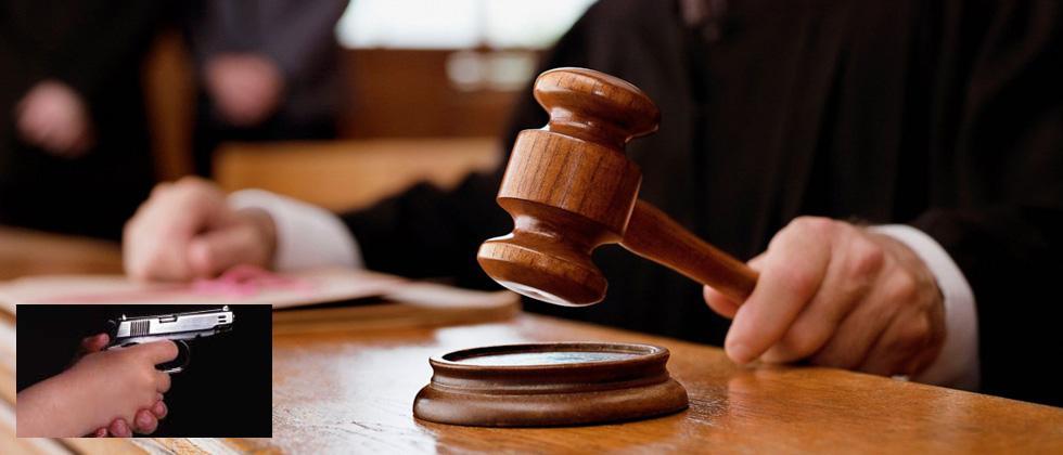 Firing at court: Criminal injured, bar body claims regular affair