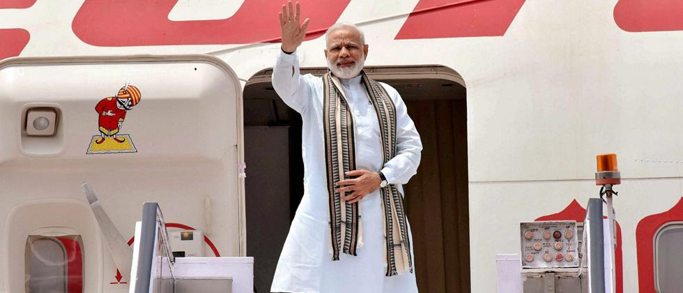 Narendra Modi leaves for Israel on his three-day historic visit