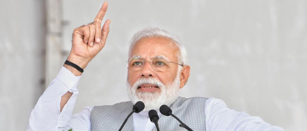 Modi urges supporters to take 'main bhi chowkidar' pledge
