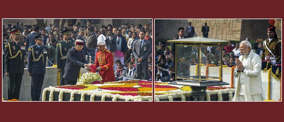 Nation remembers Mahatma Gandhi on his 71st death anniversary