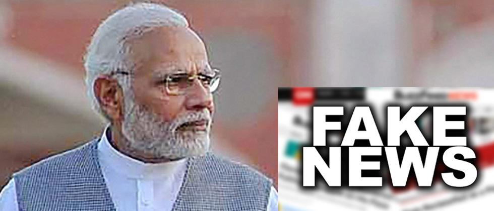 PM Modi withdraws order threatening scribes over fake news