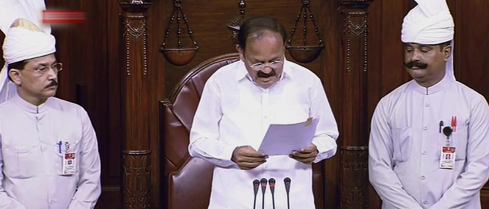 Rajya Sabha adjourned over Amit Shah's speech