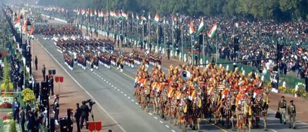 Republic Day celebrations at Rajpath underway