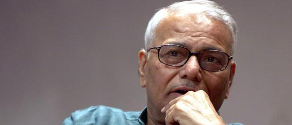 Karnataka election 'rehearsal' of LS polls: Yashwant Sinha