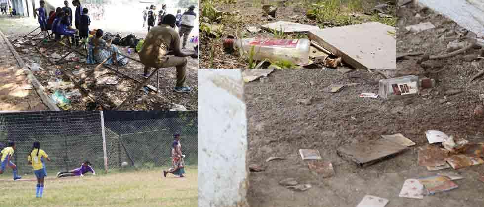 Dobarwadi ground not safe to play