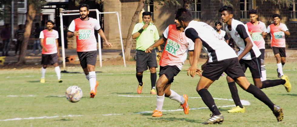 Sangavi FC, Deccan XI win opener in VOBA Invitational football