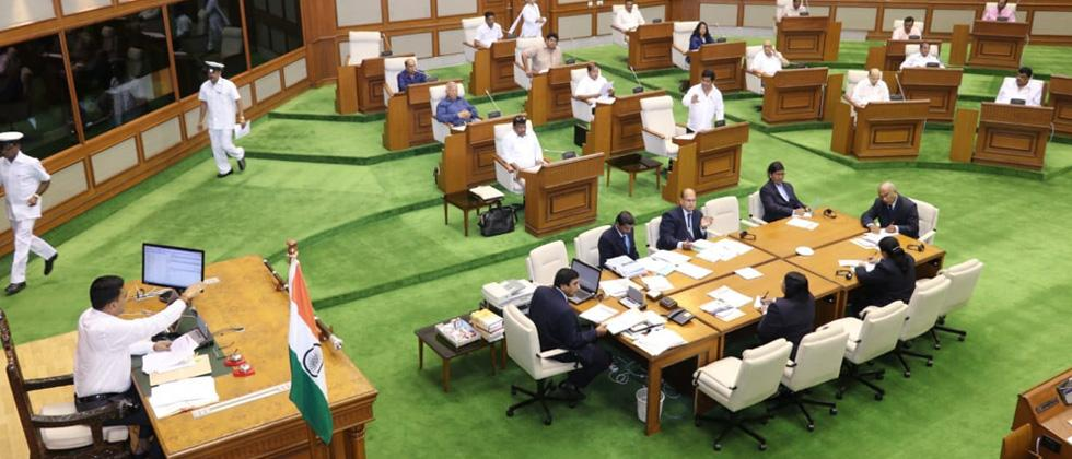 Goa assembly disrupted over formalin-laced fish
