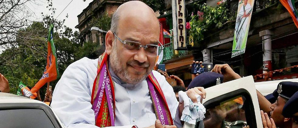 Amit Shah in Gujarat court in 2002 Naroda Gam case