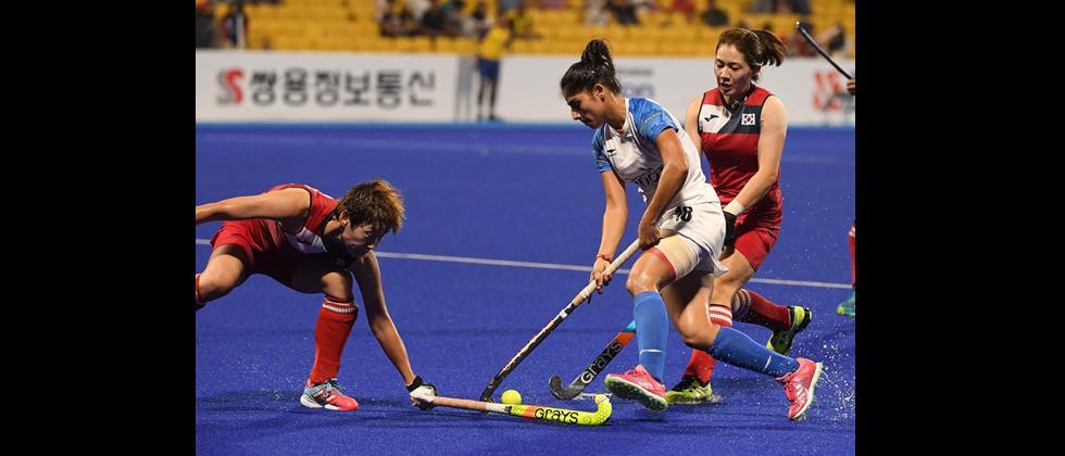 Gurjit's brace helps India stun Korea