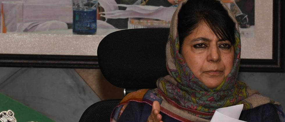 Terror attack should not be an excuse to persecute or harass people from J-K: Mehbooba
