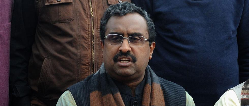 BJP wants early Assembly polls in J&K: Ram Madhav