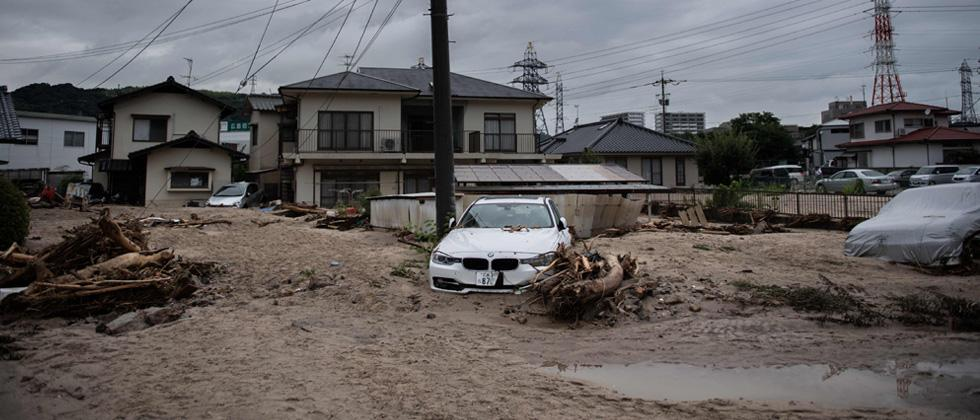Japan PM to meet stranded evacuees in flood disaster zone