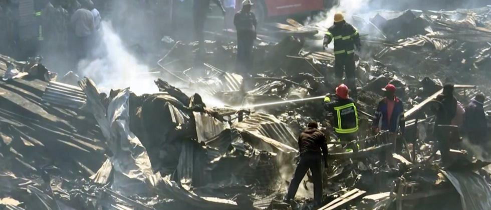 15 killed in Kenya market fire