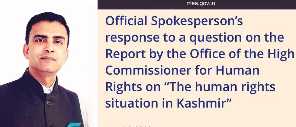 India rejects UN report on human rights in J&K