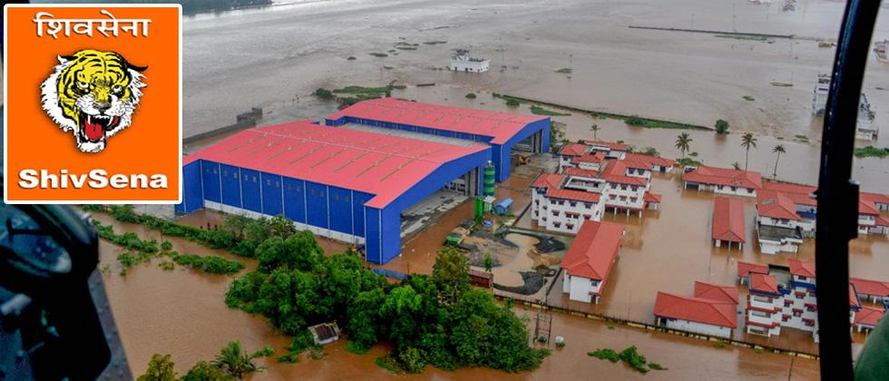Sena MPs, MLAs to give month's salary for Kerala flood relief