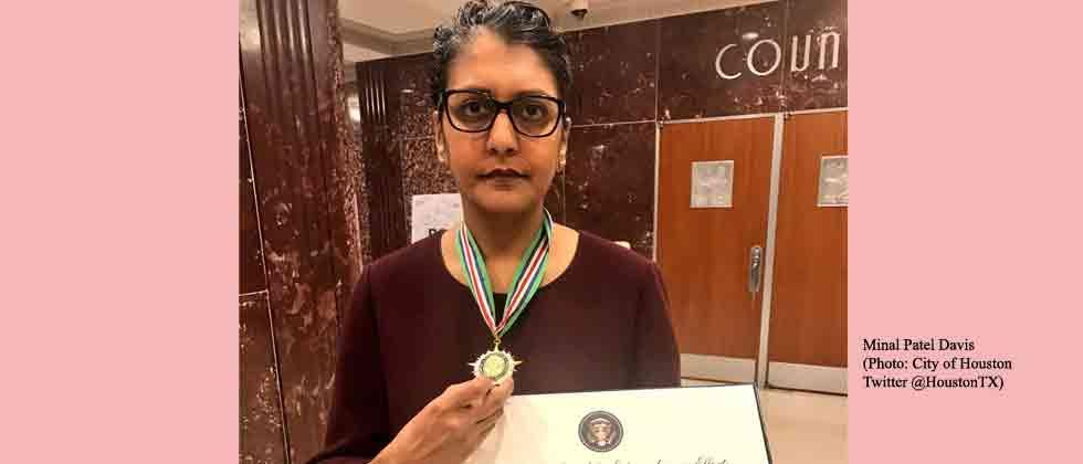 Indian-American awarded at White House for combatting human trafficking