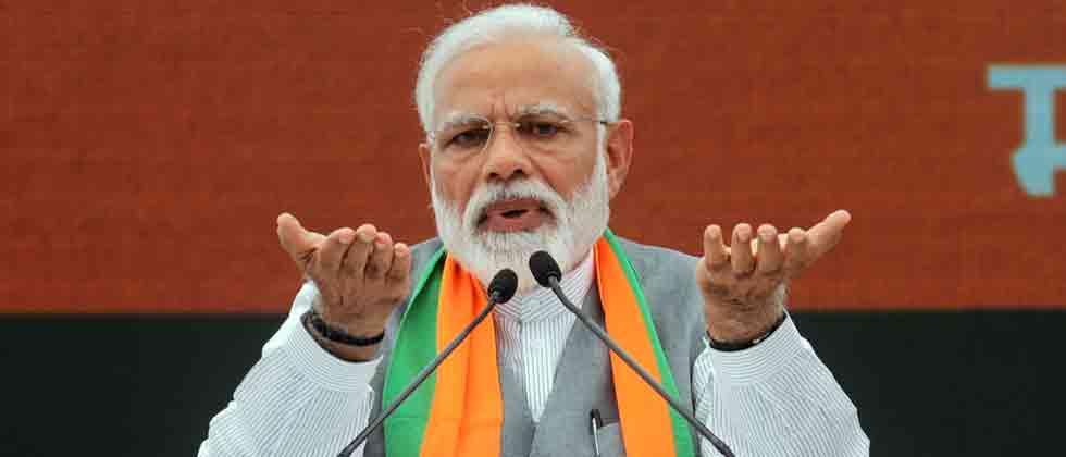 Cong responsible for creation of Pakistan, says Modi