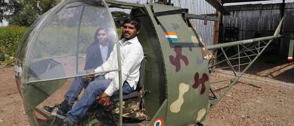Motor mechanic successfully builds chopper