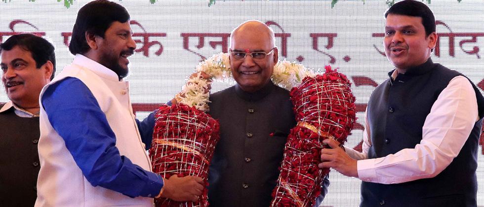 Kovind reaches Mumbai; to address MPs, legislators