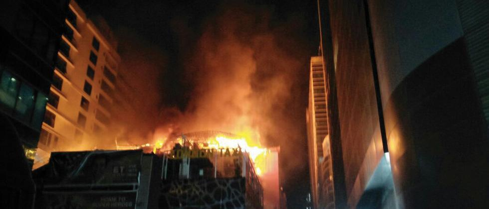 14 killed, 19 injured in Mumbai building fire