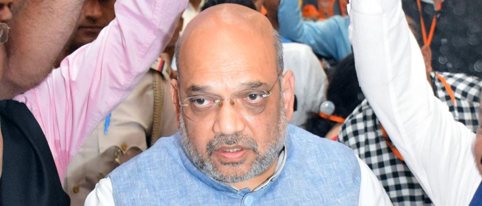 LokSabha 2019: Cong trying to defame Hindus by giving them terror tag: Shah