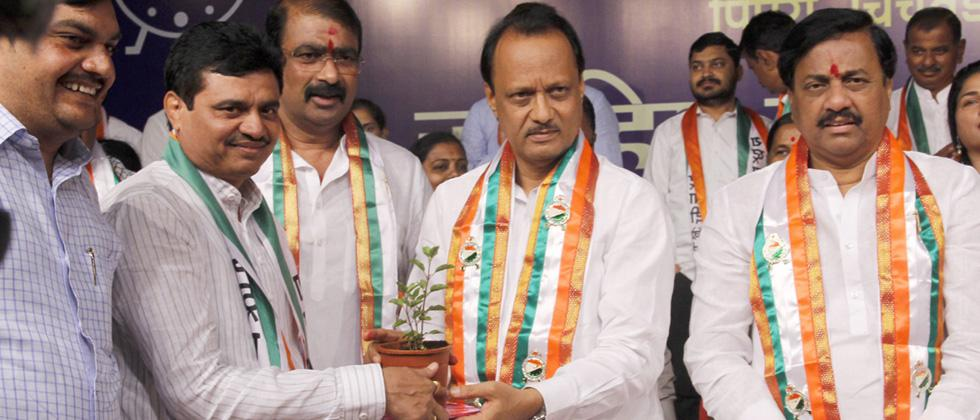 Blow to BJP: Rajendra Jagtap rejoins NCP