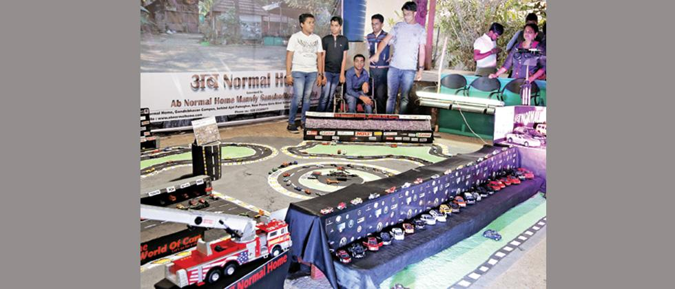 Ab-Normal Home children organise car exhibition