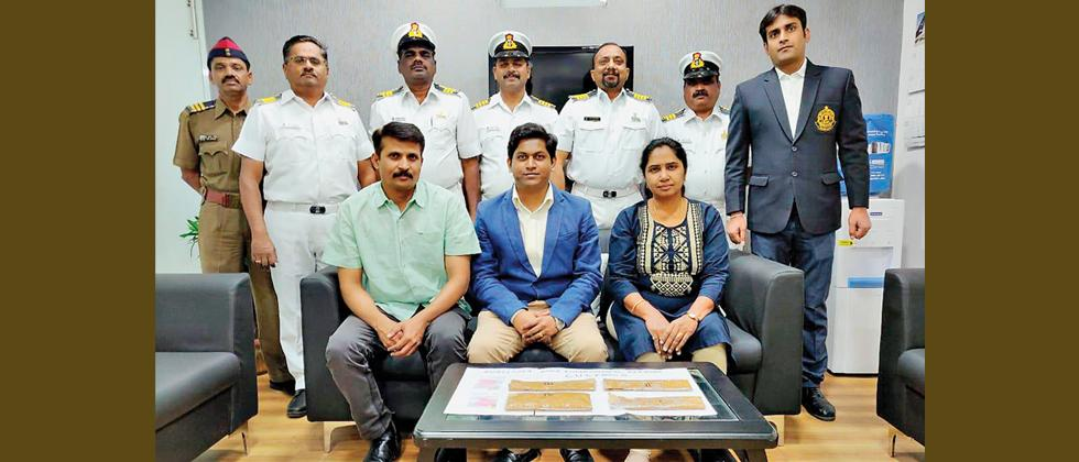 Air passenger held with gold worth Rs 81.75L