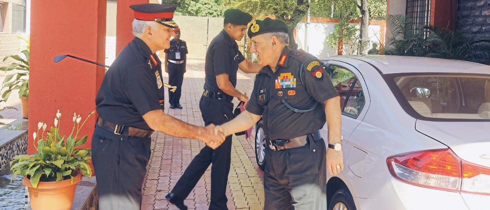 Army Chief Rawat reviews operational preparedness of Southern Command
