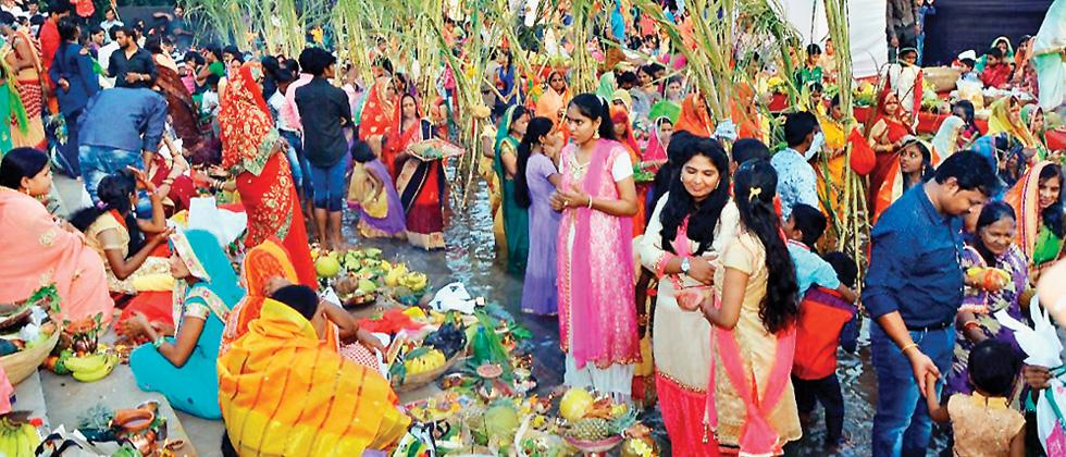 Chhath puja concludes with morning 'arghya'