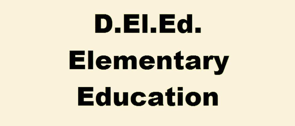 D.El.Ed. training a headache for teachers