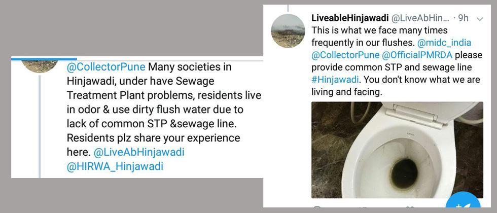 Hinjawadi's residents raise a stink