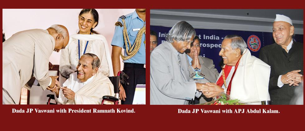 It was an honour knowing you, Dada Vaswani