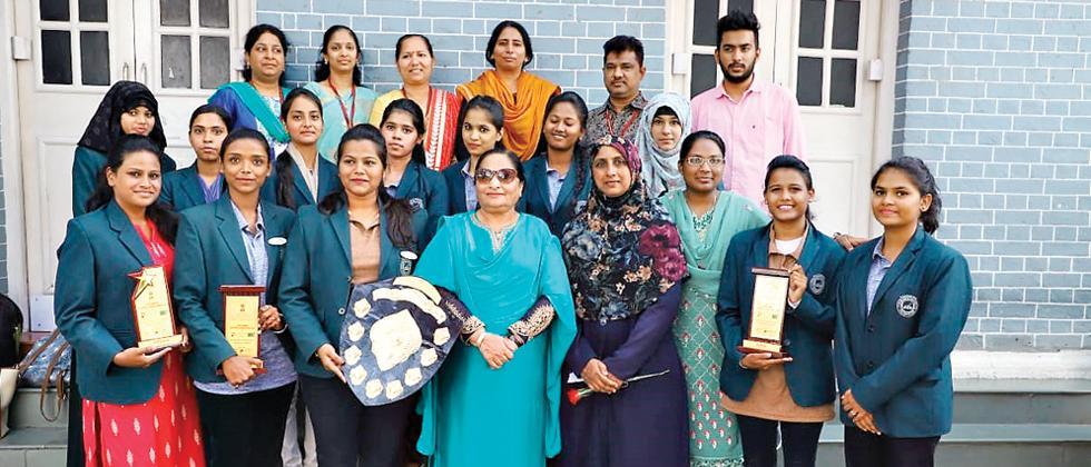 Junior College of Education Azam Campus wins laurels