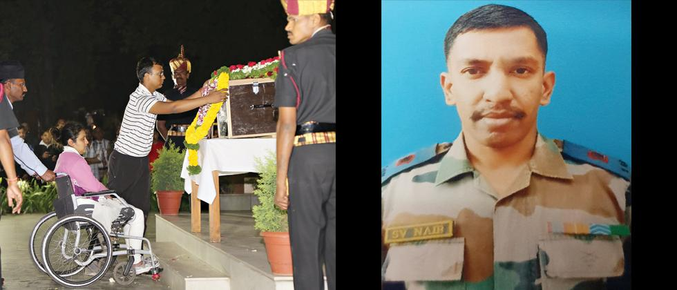 Major Nair martyred in J&K