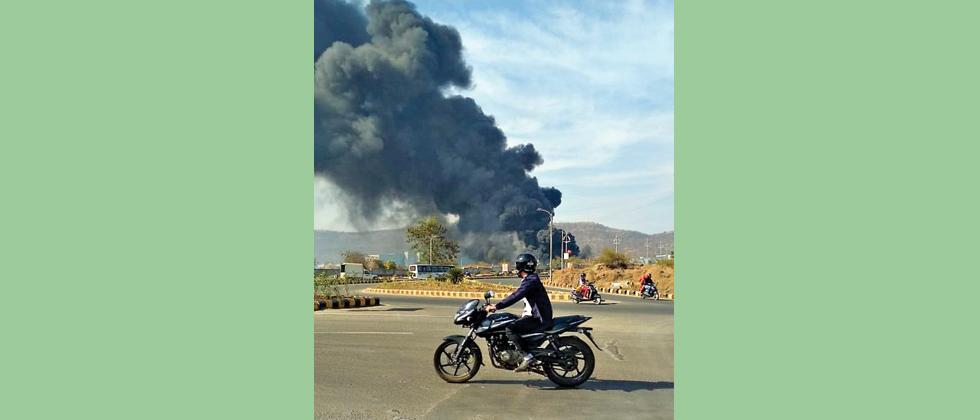 Menace of garbage burning continues to haunt Hinjawadi
