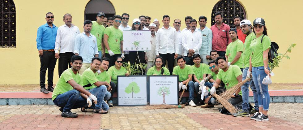 The Orchid Hotel celebrates World Environment Day