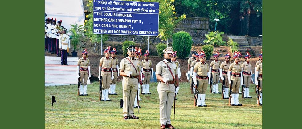 Police Commemoration Day observed in the city