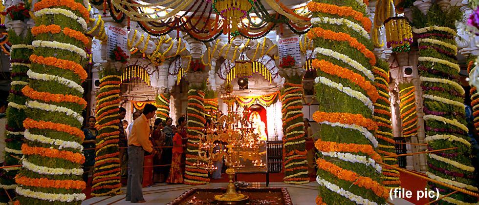Sarasbaug Mahalakshmi temple trust to fete women during Navratri