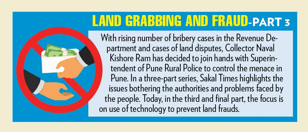 Technology can help curb land frauds