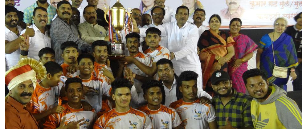 tkarsh Krida Mandal overpowers Bhairavnath to take home boys title