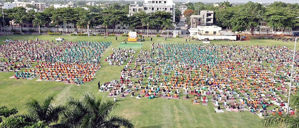 From over 150 countries across borders, culture and religion joined the Art of Living to mark the Third International Day of Yoga